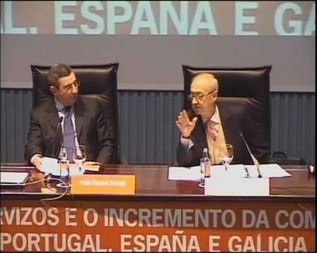 Mesa redonda sobre o impacto da Directiva de servizos nas enxeñerías e actividades económicas afins. - Foros sobre a directiva servizos e o incremento da competitividade: Unha oportunidade para Portugal, España é  Galicia